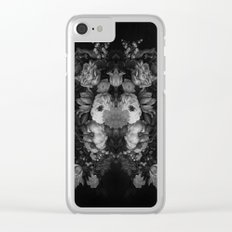 Botanical Darkness Clear iPhone Case