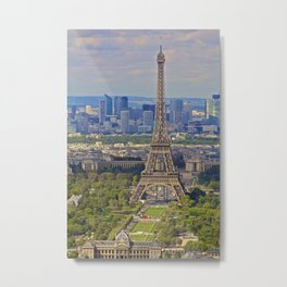 Classic Paris Metal Print