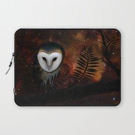 Barn owl at night Laptop Sleeve
