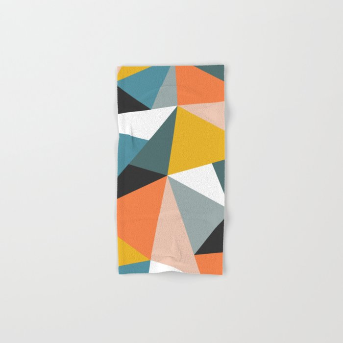 Modern Geometric 36 Hand & Bath Towel