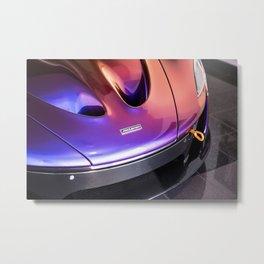 McLaren P1 - Cerberus Pearl - Nose Angle Metal Print