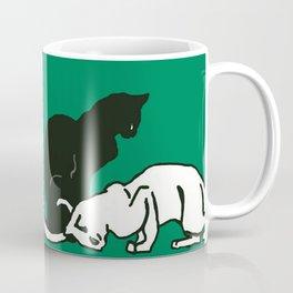 "Théophile Steinlen  ""Frise de chats"" (edited)(3) Coffee Mug"