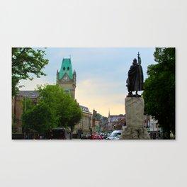 King Alfie Canvas Print