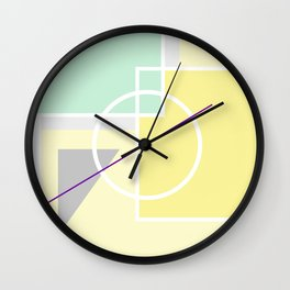 Geometric Calendar - Day 39 Wall Clock