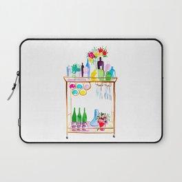 Watercolor Bar Cart no 1 Laptop Sleeve