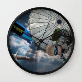 Operation Baby Drop Wall Clock