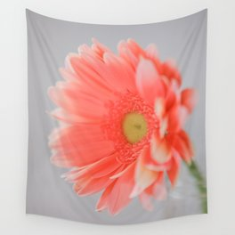 Pink Daisy Wall Tapestry