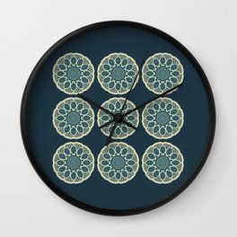 Eastern Mandala 2 Wall Clock