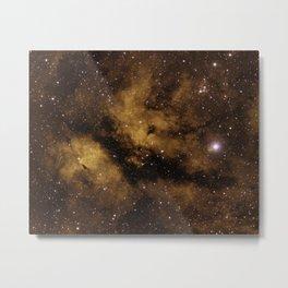 IC 1318 Nebula Metal Print