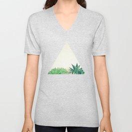 Succulent Forest Unisex V-Neck