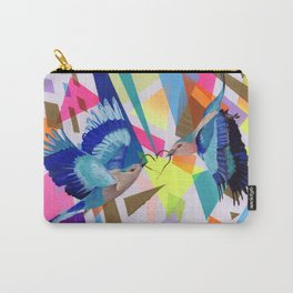 Geo Fly Birds Carry-All Pouch