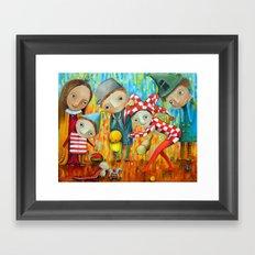 Majesty Walk Framed Art Print