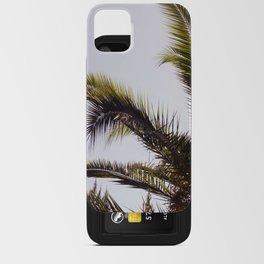 Palm Tree Leaf Me iPhone Card Case
