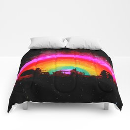 The Flaming Lips Space Rainbow Comforters