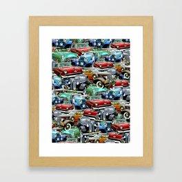Classic Cars (K.T.B.) Framed Art Print