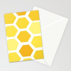 Beehive Pattern by Friztin Stationery Cards