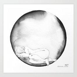 NAP not Coffee. K.Gilmartin Art Print