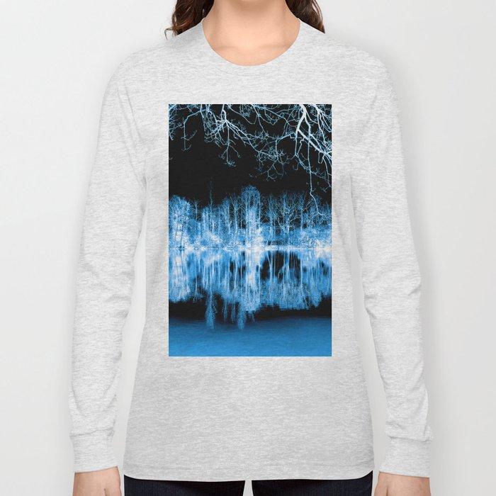 Lake Nights Reflections Long Sleeve T-shirt