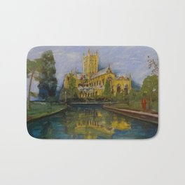 City of Wells in Somerset - Cathedral Bath Mat