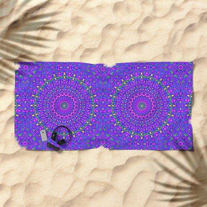 Pastel Party Beach Towel