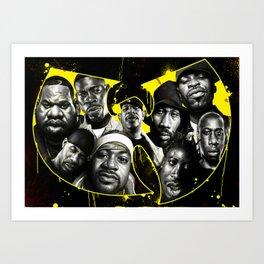 The Wu Art Print