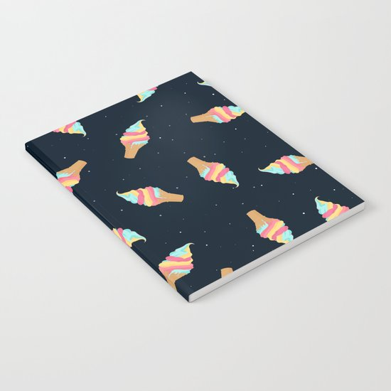 Soft Serve in Space Notebook
