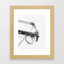 Counterpart II Framed Art Print