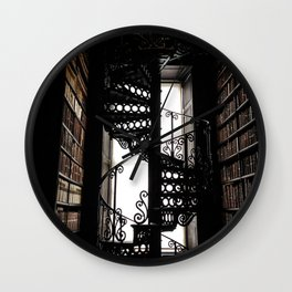 Trinity College Library Spiral Staircase Wall Clock
