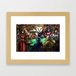 Pokerface Framed Art Print