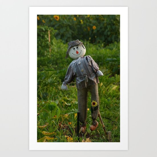 Be Happy in Your Work Art Print