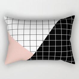 Minimal Geometry Rectangular Pillow