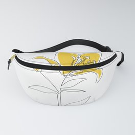 Mustard Lily Fanny Pack