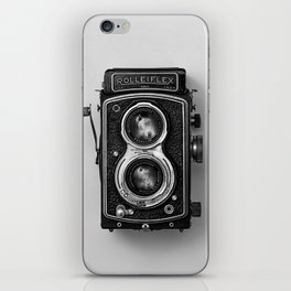 Rolliflex Camera iPhone Skin