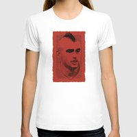 juventus T-shirts featuring World Cup Edition - Arturo Vidal / Chile by Milan Vuckovic