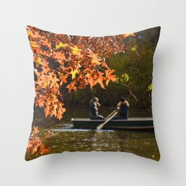 Row Row Row Your Boat Throw Pillow