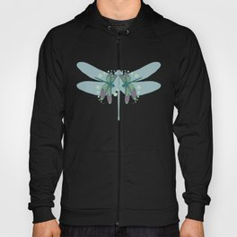 pattern with dragonflies 1 Hoody