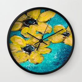 Seeing in the Dark Wall Clock