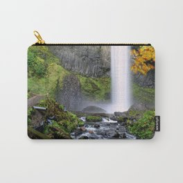 Bridge Over Rocky Waters Carry-All Pouch