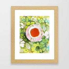 Fancy A Cuppa? Framed Art Print