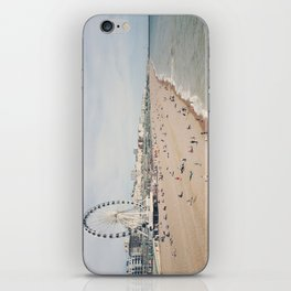 let's go to the beach iPhone Skin