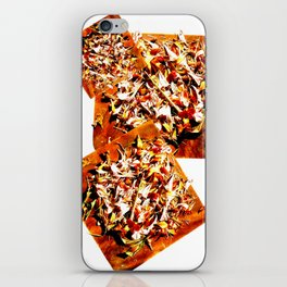 Flowers on a table 2 iPhone Skin