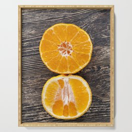 delicious tangerines Serving Tray