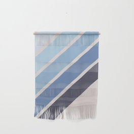 Blue Color Drift Wall Hanging