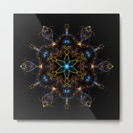 Full Spectrum Mandala Metal Print