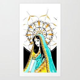 Diwali Art Print