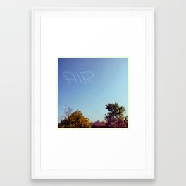 AIR Framed Art Print