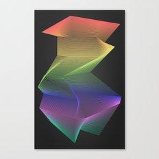 Angular Rainbow Canvas Print