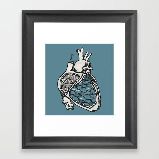 H E A R T Framed Art Print