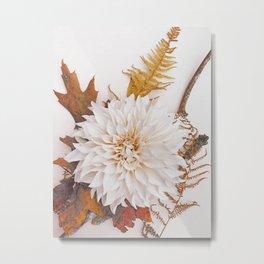 Autumn Mood #3 - Modern Botanical Photograph Metal Print