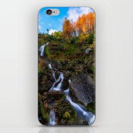 Waterfall in Ireland (RR 253) iPhone Skin